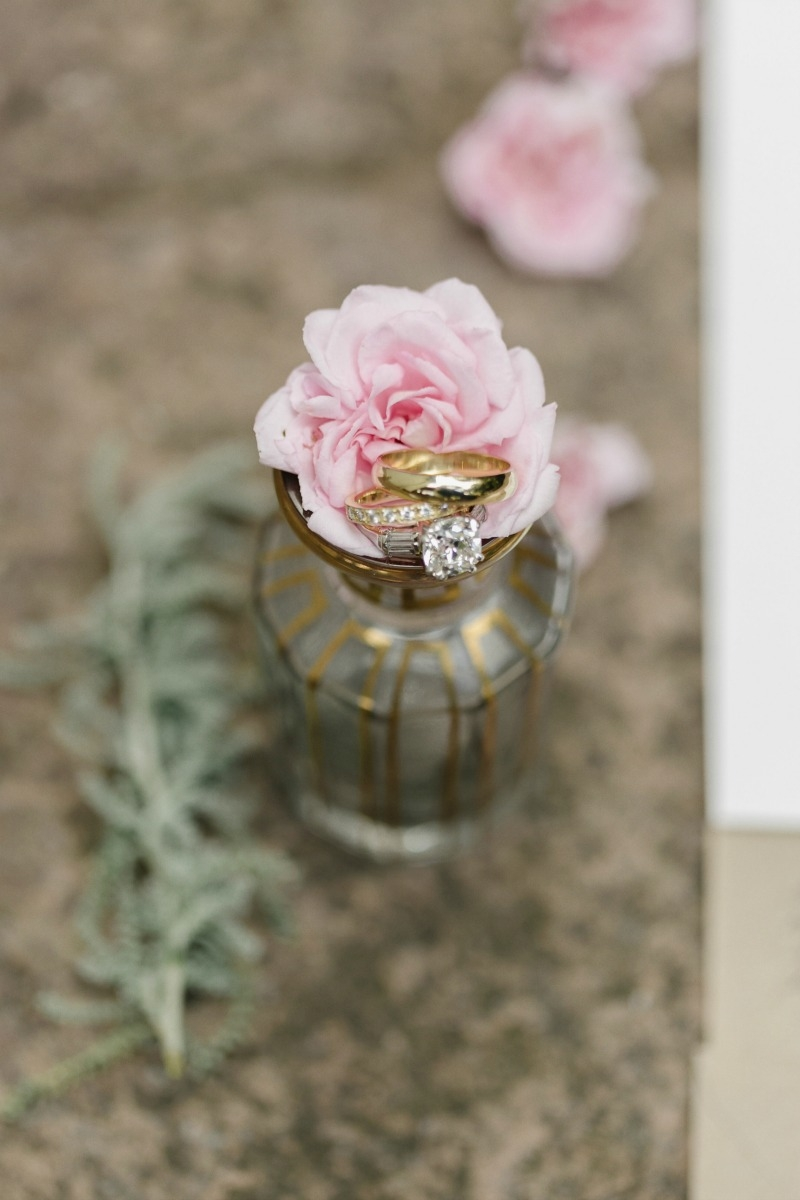 The rings!!!! Beautiful wedding at Rancho Soquel. Flowers by Seascape Flowers. Photography by Jana Williams Photography. Coordination by The Wedding Connection. Cake by The Buttery.