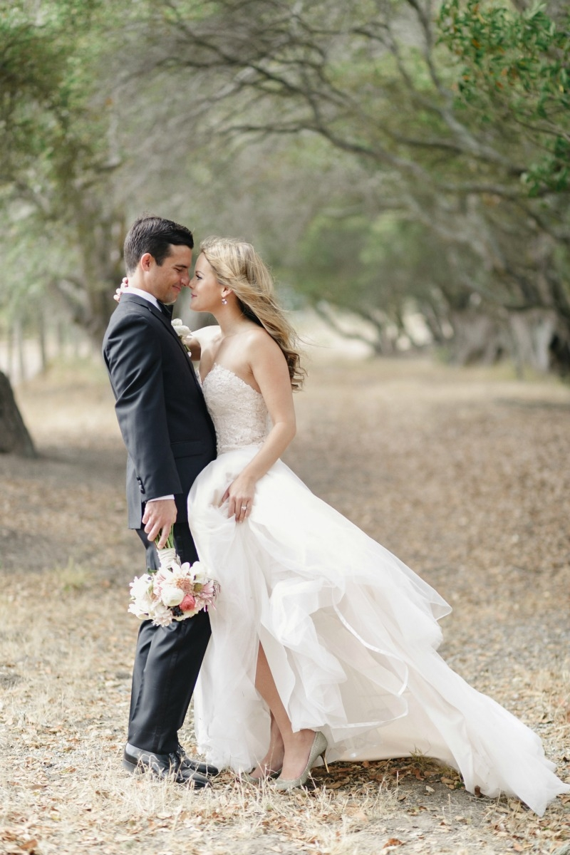 This has to be one of my favorite wedding shots! Beautiful wedding at Rancho Soquel. Flowers by Seascape Flowers. Photography by Jana Williams Photography. Coordination by The Wedding Connection. Cake by The Buttery.