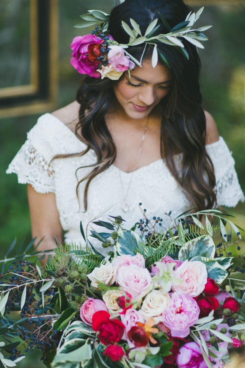 Santa Cruz rose garden inspiration photo shoot. Coordinated by ExQuisite Events Co. Photography by Two Foxes Photography. Flowers by Seascape Flowers. Bridal Dress by LOHO Bride