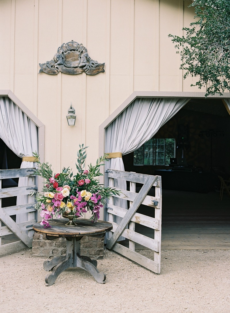 Rustic Romantic Holman Ranch wedding photographed by Emily Scott. Coordination by Every Last Detail. Flowers by Seascape Flowers. Catering by Paradise Catering. Vintage Rentals from 7th Heaven Vintage Rentals. Rentals from Classic Party Rentals SF.