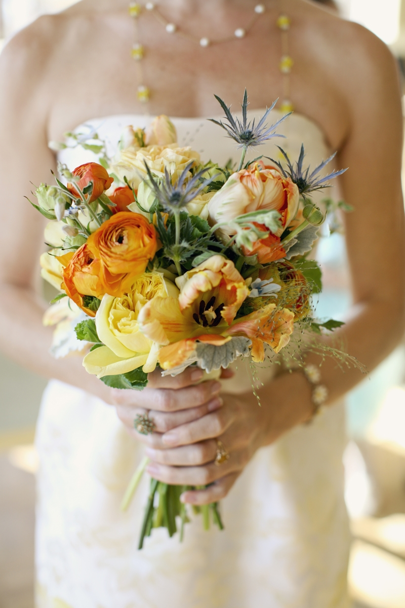 These fall inspired bouquets have all the right textures! Flowers and Decor by Seascape Flowers. Photography by  Evynn Levalley Photography. Linens by La Tavola Linens. Venue at Seascape Beach Resort.