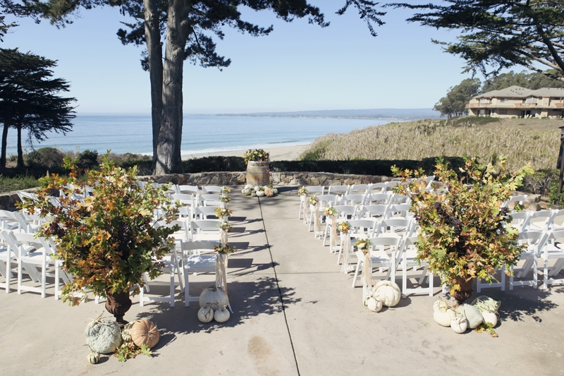 Fall Beach Wedding Flowers