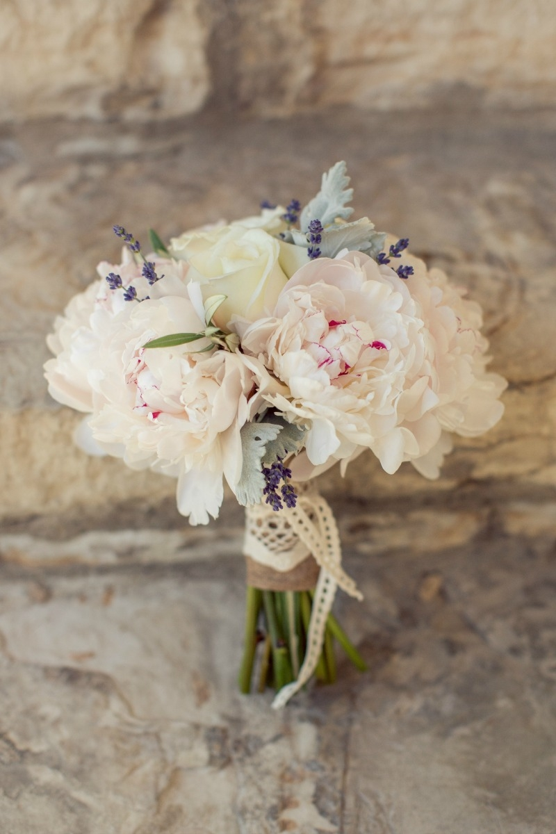 Loving how simple this peony bridal bouquet is! Casual Holman Ranch Wedding. Flowers by Seascape Flowers. Coordinated by Coastside Couture. Photograhed by Carlie Statsky Photography. Paper Goods by Crescent Moon Paper. Catered by Paradise Catering. M