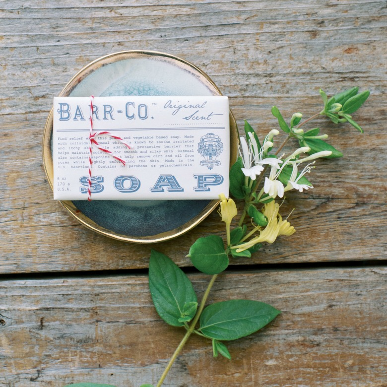 bar co. soap and soap dish for delivery to Aptos