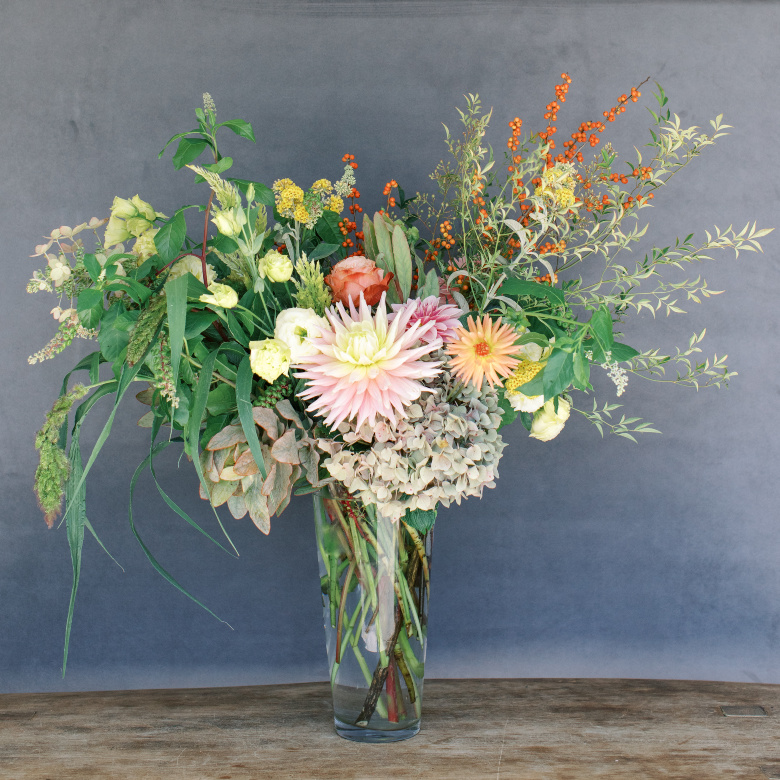 Our bigger is better sized arrangement available for delivery to Santa Cruz